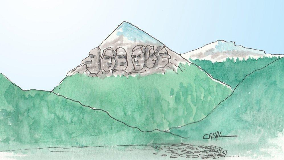 Ces pères fondateurs oubliés de l'histoire